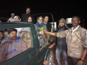 अब ताडोबा में रात में भी हो सकेंगे बाघ के दीदार, पहले दिन मुंबई के पर्यटकों ने उठाया नाइट सफारी का लुत्फ