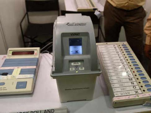 VVPAT उपकरण को खामी रहित बनाने की मांग पर चुनाव आयोग को जारी नोटिस