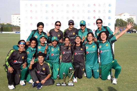 पाकिस्तान महिला टीम ने रचा इतिहास, वेस्टइंडीज के खिलाफ पहली बार जीती वनडे सीरीज