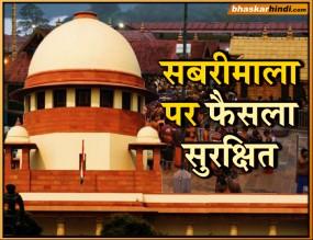 सबरीमाला : सुप्रीम कोर्ट ने सुरक्षित रखा फैसला, मंदिर प्रशासन ने कहा- हर उम्र की महिलाओं को प्रवेश देंगे