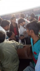 फूड पॉइजनिंग! ट्रेन में खाना खाकर लगभग 20 बीमार, नागपुर स्टेशन पर हुआ इलाज