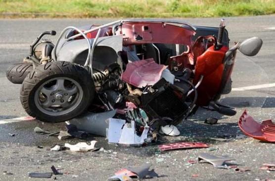 पांच वर्षों में सड़क दुर्घटनाओं से 2736 लोगों की गई जान, आरटीई से मिली जानकारी