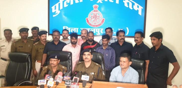जबलपुर : मादक पदार्थ की तस्करी मेंं लिप्त 3 आरोपी गिरफ्तार