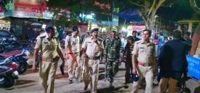 लोकसभा चुनाव: सीआरपीएफ ने किया शहर में फ्लैग मार्च, संदिग्धों पर रख रही नजर