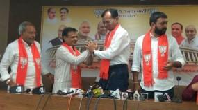 गुजरात : कांग्रेस विधायक जवाहर चावड़ा और परसोत्तम साबरिया का इस्तीफा