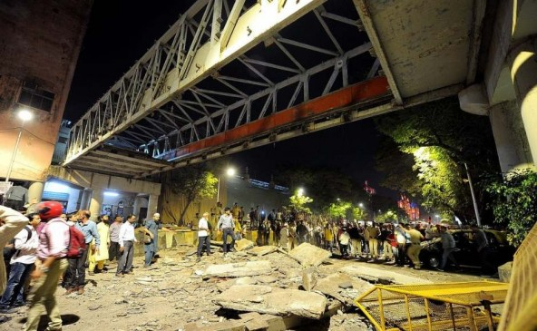 सीएसएमटी पुल हादसा : स्ट्रक्चरल ऑडिट करने वाली कंपनी का डायरेक्टर गिरफ्तार