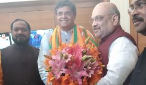 पूर्व BJD सासंद बैजयंत जय पांडा बीजेपी में शामिल, अमित शाह से की मुलाकात