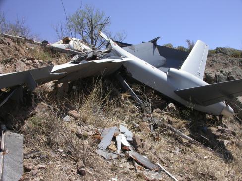 भारतीय वायुसेना ने राजस्थान में एक और ड्रोन मार गिराया