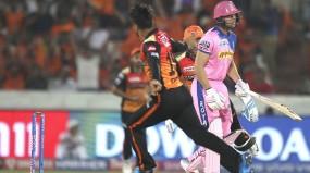 IPL -12: रोमांचक मैच में हैदराबाद ने राजस्थान को 5 विकेट से हराया