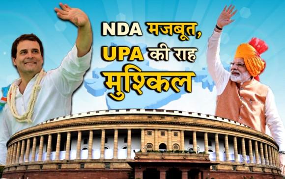 लोकसभा चुनाव 2019: बहुमत के करीब NDA, यूपीए को 141 सीटें मिलने की उम्मीद