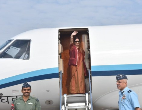 विदेश मंत्री का मालदीव दौरा आज से,राष्ट्रपति सोलिह से करेंगी मुलाकात