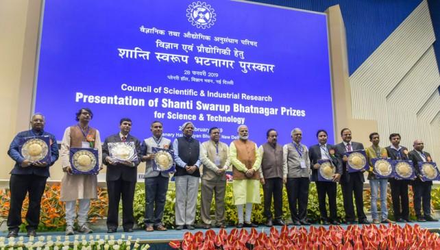 महाराष्ट्र के 6 वैज्ञानिक शांति स्वरुप भटनागर पुरस्कार से सम्मानित
