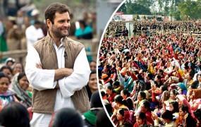 देहरादून में बोले राहुल गांधी, कहा- हम गब्बर सिंह टैक्स को सच्ची जीएसटी में बदलेंगे