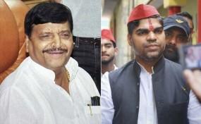 भतीजे के खिलाफ फिरोजाबाद सीट से शिवपाल ने भरा नामांकन, कहा- यूपी की सबसे बड़ी पार्टी बनेंगे