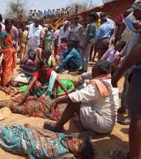 तेलंगाना में मिट्टी का टीला ढहा, काम में लगे 11 मजदूरों की दर्दनाक मौत