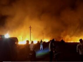 नरवई की आग में जले 3 किसान, तीन हजार हेक्टेयर की फसल खाक