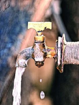 यूनिवर्सिटी में पीने के पानी के लिए मोहताज होने की नौबत