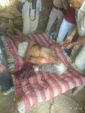 खेत में सो रहे वृद्ध की निर्मम हत्या से गांव में सनसनी, तनाव का महौल