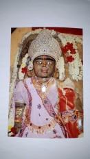 जबलपुर के तेवर ग्राम में है बाल हनुमान को गोद में लिए अंजनी माता की दुर्लभ प्रतिमा