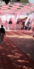 पारा 44 डिग्री पर पहुंचते ही मतदान केन्द्रों में छा गया सन्नाटा