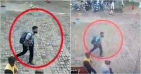 श्रीलंका ब्लास्ट : CCTV फुटेज में दिखा सेबेस्टियन चर्च में धमाका करने वाला संदिग्ध हमलावर