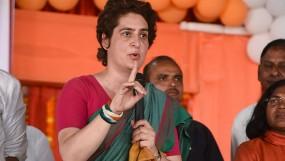 प्रियंका के सामने बच्चों ने लगाए PM मोदी के खिलाफ आपत्तिजनक नारे, कांग्रेस महासचिव ने मना किया