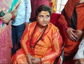 साध्वी का बयान से यू टर्न, बीजेपी ने भी झाड़ा पल्ला, कांग्रेस बोली- माफी मांगे मोदी