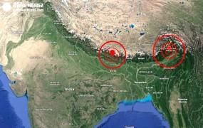 भूकंप के झटकों से थर्राए नेपाल और अरुणाचल प्रदेश