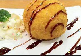 गर्मी में लें स्वादिष्ट आईस्क्रीम पकौड़ा का मजा