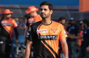 टीम के प्रदर्शन से खुश हूं, मैच को अंतिम ओवर तक खींचना था लक्ष्य: भुवनेश्वर कुमार
