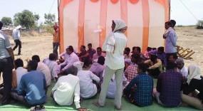 अमरावती के गोपगव्हाण के प्रकल्पग्रस्तों ने किया मतदान का बहिष्कार