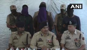 J&K: जैश-ए-मोहम्मद के तीन आतंकी गिरफ्तार, पुलिस पोस्ट पर किया था हमला