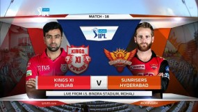KXIP vs SRH : मयंक-राहुल की हाफसेंचुरी, पंजाब ने हैदराबाद को 6 विकेट से हराया