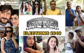 Lok Sabha Election 2019: अमिताभ, सलमान, आमिर, करीना समेत कई बॉलीवुड स्टार्स ने वोट डाला