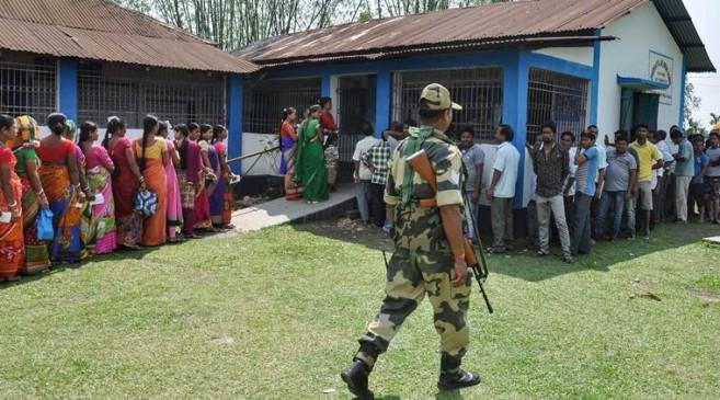 लोकसभा चुनाव 2019 : दूसरे चरण में 66 फीसदी वोटिंग, पश्चिम बंगाल में हिंसा