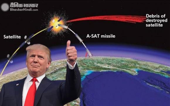 US ने फिर किया भारत के ASAT टेस्ट का समर्थन, कहा- अंतरिक्ष से खतरे को देखते हुए जरूरी था