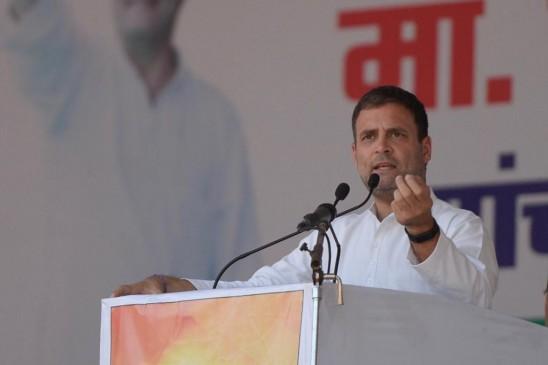 राहुल की अमर्यादित टिप्पणी, कहा- मोदी ने गुरु आडवाणी को जूता मार कर नीचे उतार दिया