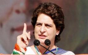 प्रियंका का प्रहार, 'बीजेपी नेता सच्चे देशभक्त होते तो इंदिरा-राजीवका सम्मान करते'