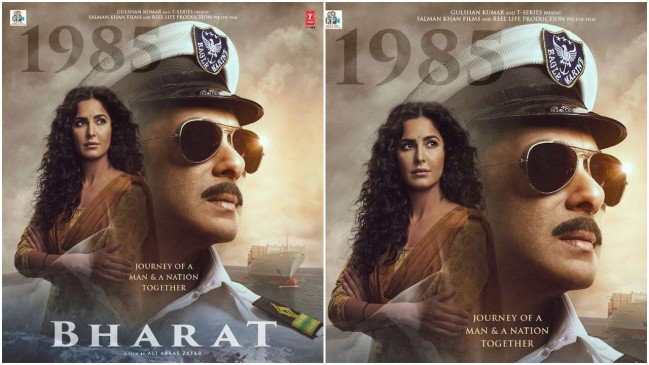 फिल्म भारत का चौथा पोस्टर रिलीज, नेवी ऑफिसर के लुक में नजर आ रहे सलमान