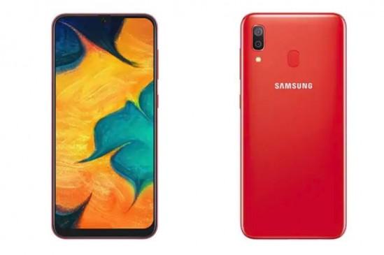 Samsung Galaxy A30 का रेड वेरियंट कल होगा लॉन्च, जानें कीमत