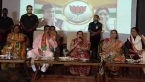 कांग्रेस का घोषणा पत्र देशद्रोहियों और अलगाववादियों को खुश करने वाला - सुषमा स्वराज