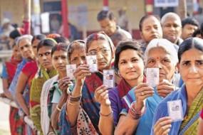 लोकसभा चुनाव का तीसरा चरण : 14 सीटों के 61.30 फीसदी मतदाताओं ने डाला वोट