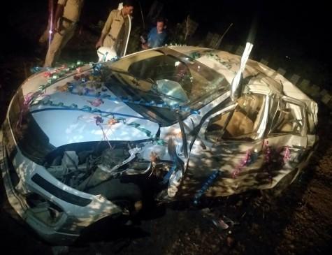 रफ्तार ने 4 लोगों को सुला दिया मौत की नींद, देवरी के पास हुआ हादसा