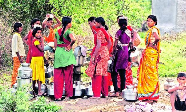 नागपुर जिले में सूखे जैसे हालात, पेंच डैम में केवल 50 MLQ पानी