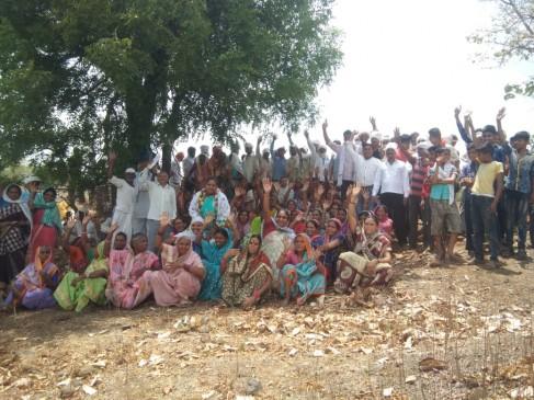 मोरडोंगरी जलाशय से नहीं लेने दिया पानी, ग्रामीणों के विरोध के चलते लौटी नपा की टीम