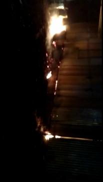 अकोला के प्लायवुड निर्माण कंपनी में लगी आग