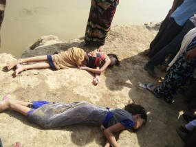 तालाब में डूबने से तीन बच्चों की मौत, विवाह समारोह में आए थे तीनों
