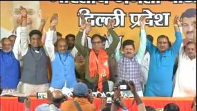 AAP को झटका, गांधी नगर विधायक अनिल बाजपेयी बीजपी में शामिल