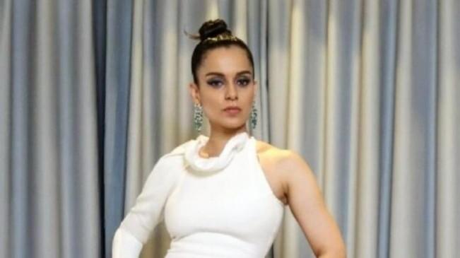Cannes 2019: व्हाइट ड्रेस में कंगना का स्टनिंग लुक