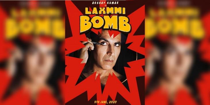 अक्षय की फिल्म लक्ष्मी बॉम्ब का पोस्टर रिलीज, ट्रांसजेंडर के रोल में आएंगे नजर